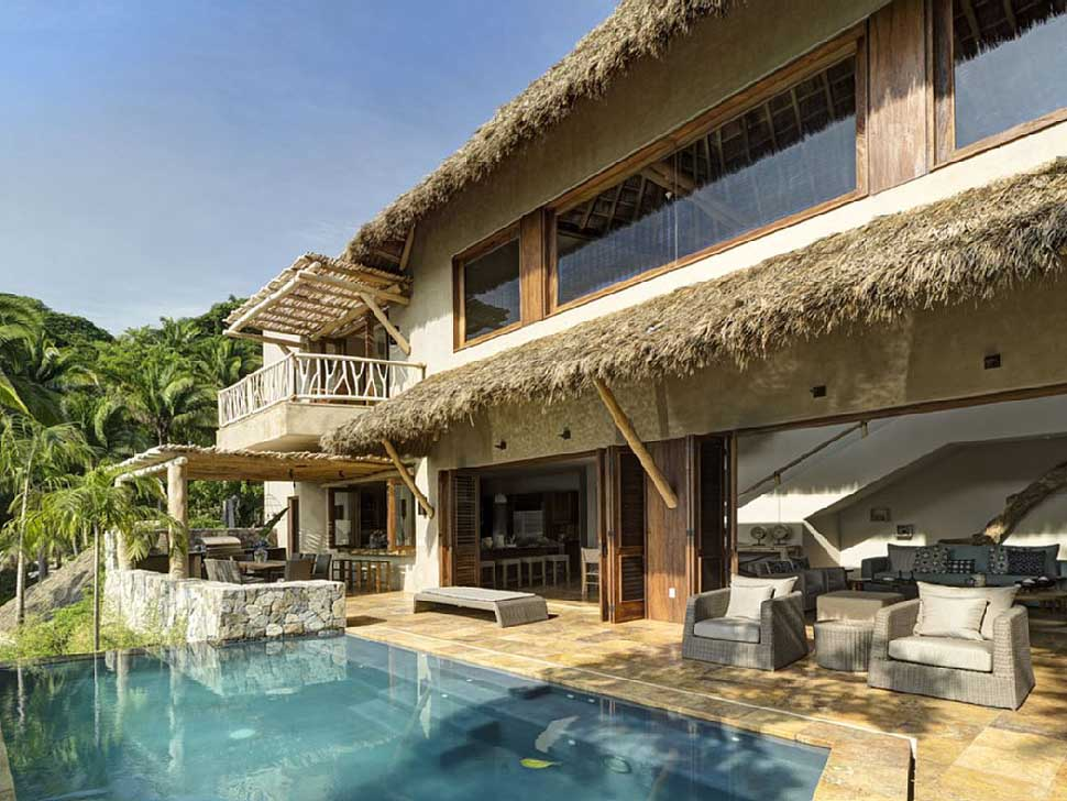 Punta paraiso villa vacation rentals boutique villas for Villas sayulita